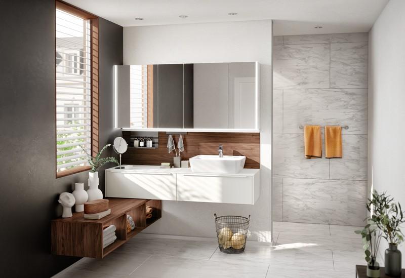 salle de bain blanc alpin
