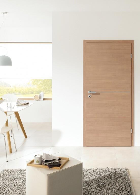 Exemple de porte intérieure bois